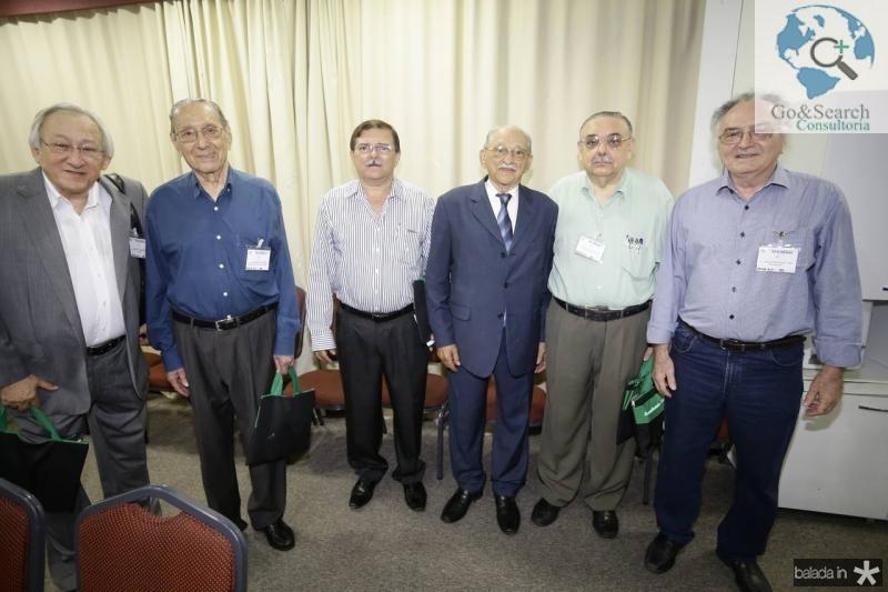 Carlos Ciarline, Gilmario Mourao, Luiz de Gonzaga, Thomaz Figueiredo, Sergio Gomes e Henrique Cardoso
