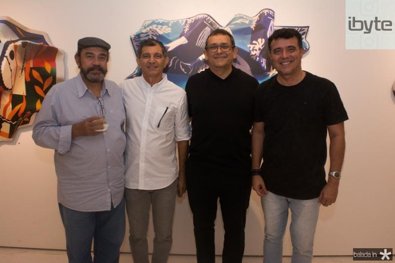 Romeu Duarte, Francisco Hissa, Jose Guedes e Marcos Lima