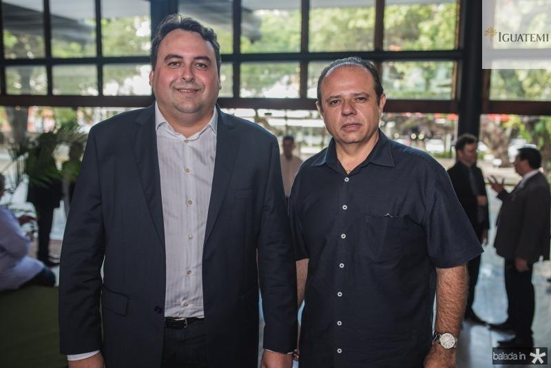 Igor Ponte e Claudio Pinho