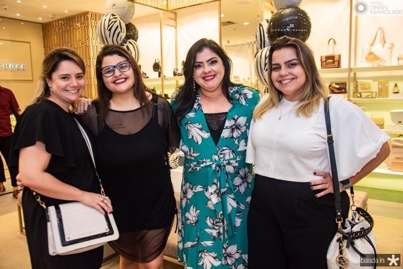 Karla Rodrigues, Josy Nery, Viviane Almada e Renata Benevides