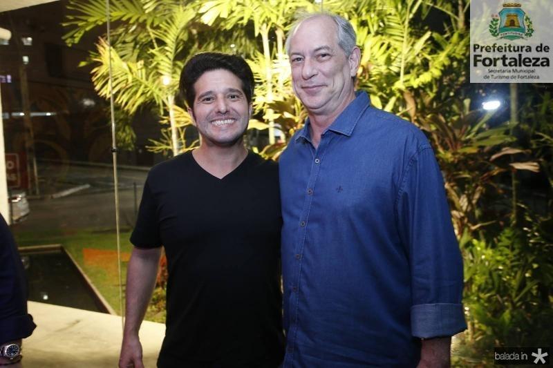 Pipo Gurjao e Ciro Gomes