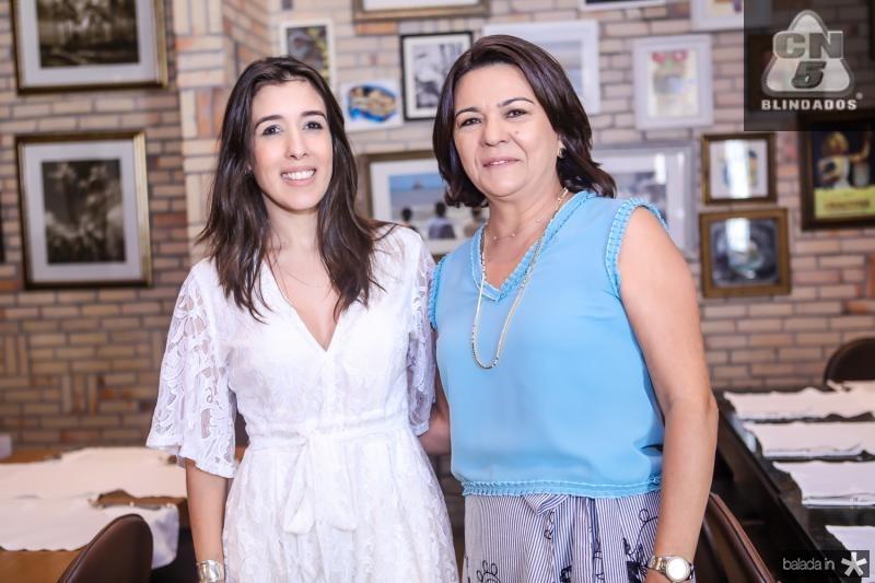 Raquel Machado e Guiomar Feitosa