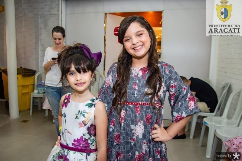 Maria Tereza Coutinho e Maria Iane Cajazeiras