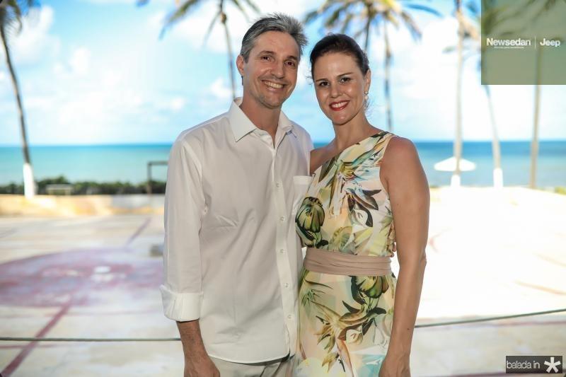 Marcelo e Carla Mazur