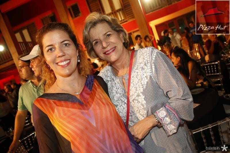 Ticiana Queiroz e Stella Rolim