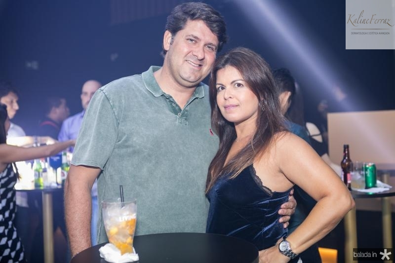 Rafael Rodrigues e  Cristiane Albuquerque