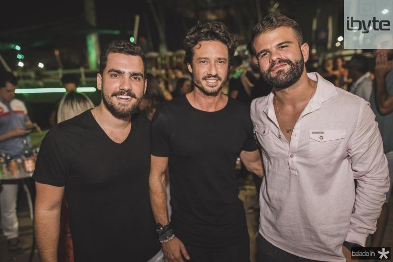 Vicente Castro, Marcelo Quindere e Andre Guerreiro