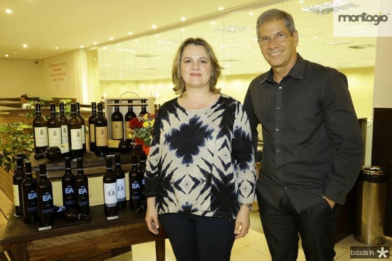 Gabriela Fialho e Severino Neto