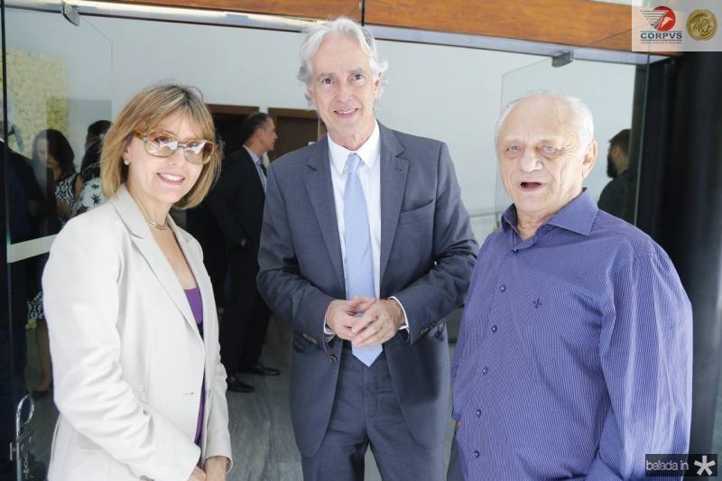 Circe Jane, Marcos Pompeu e Jose Rangel