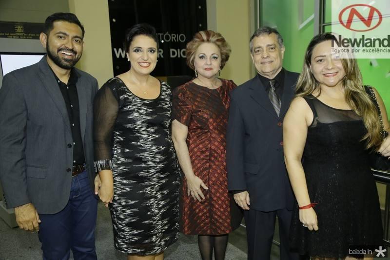 Cassio Cesar, Malu Cavalcante, Alessandra Aragao, Laete fernandes e Erica Sampaio
