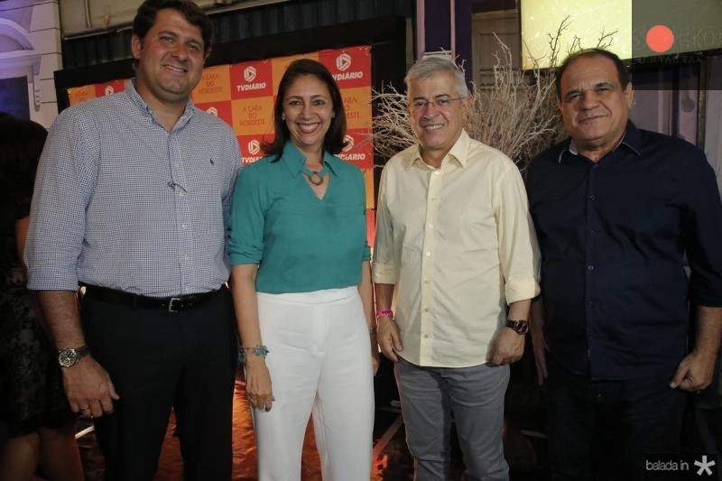 Rafael Rodrigues, Linda Tavares, Paulo Cesar Noroes e Roberto Moreira