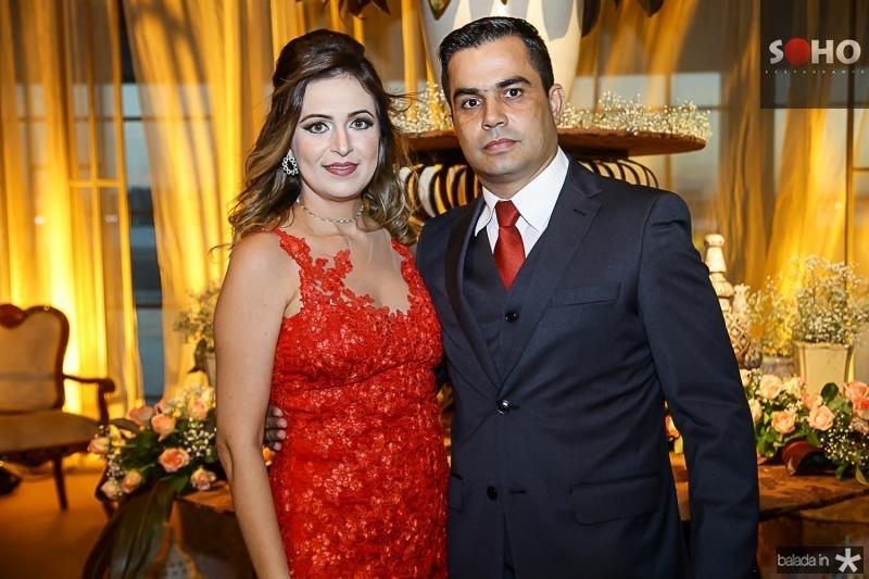 Fabiola Fernandes e Lizandro Amaral
