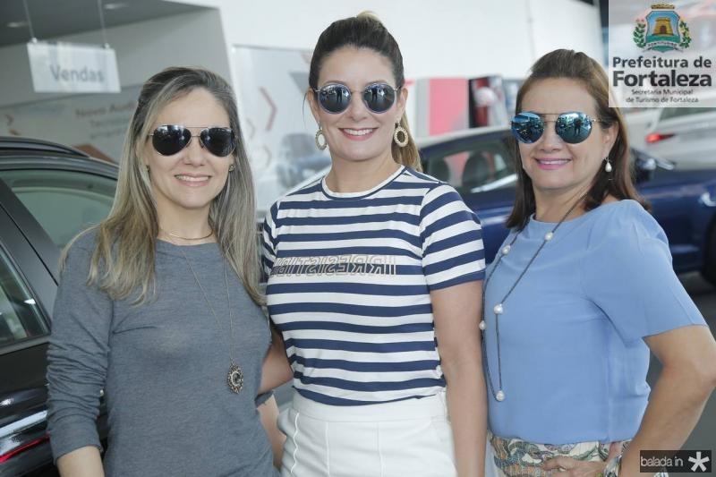 Erika Lima, Tatiana Luna e Cristina Albuquerque