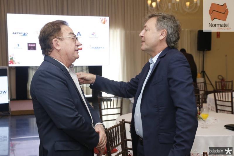Manuel Linhares e Mauricio Filizola