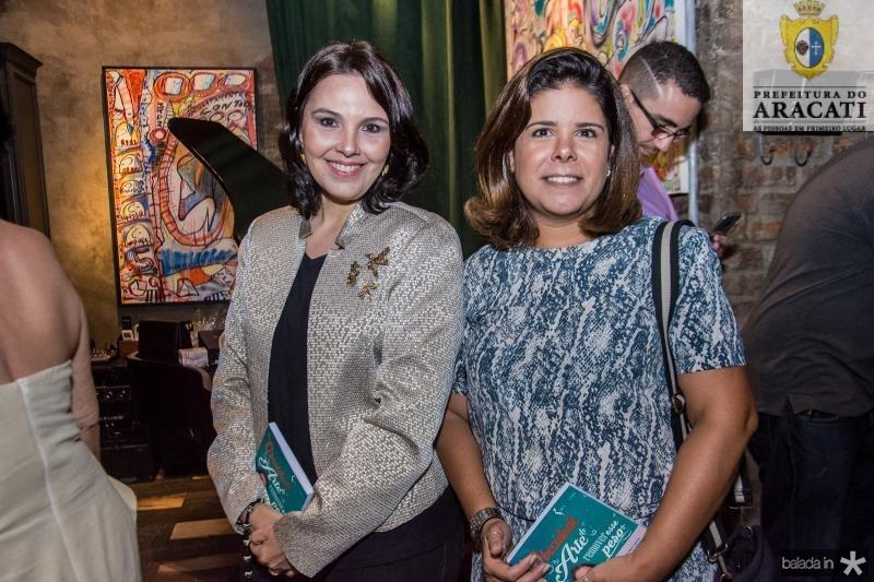 Cris Soares e Germana Ponte