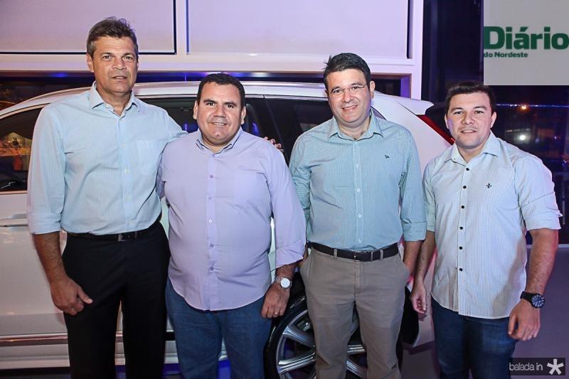 Robson Morais, Eugenio Pereira, Osvaldo Aguiar e Felipe Feijo