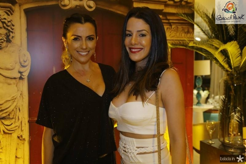 Nara Oliveira e Carla Brasil
