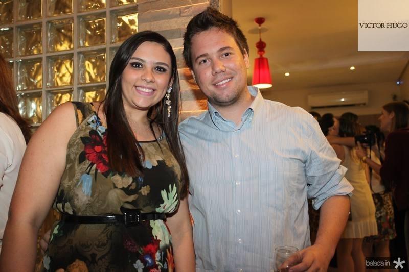 Ticiane Bezerra e Diego Dantas