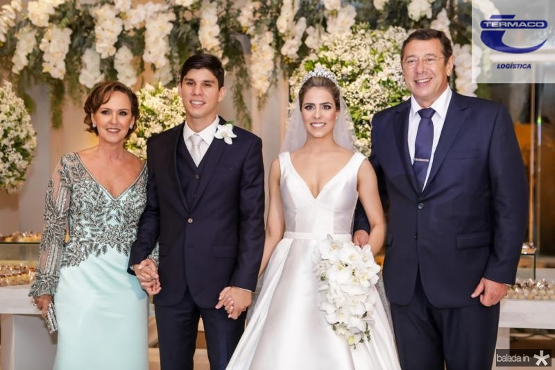 Carla e Eduardo Sleiman, Roberta Martins e Alexandre Sleiman