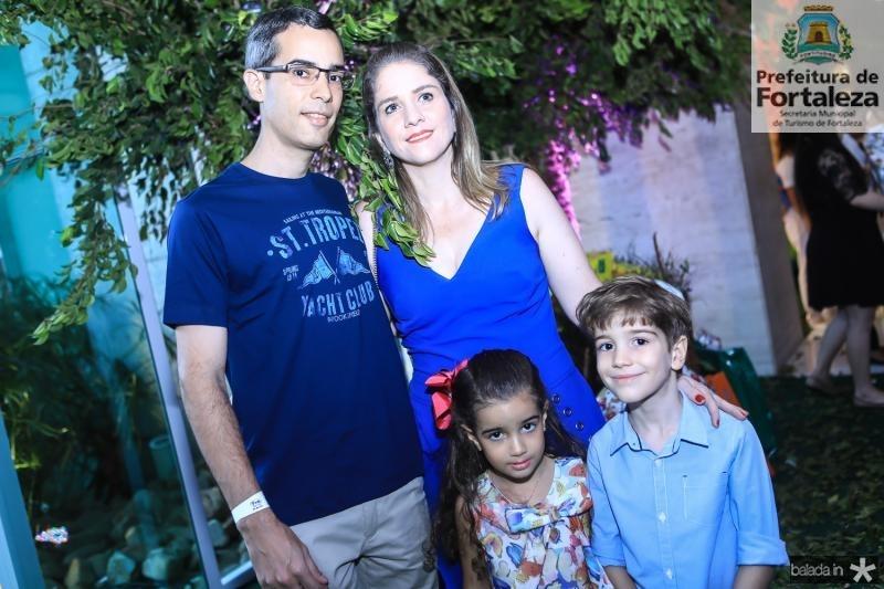 Ciro, Laura,Karla e Ciro Alcantara