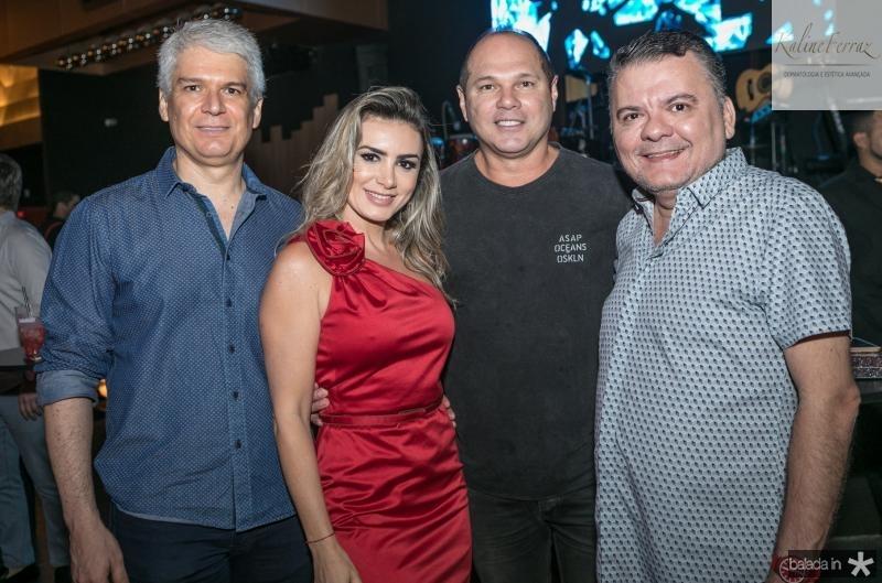 Leonardo Leal, Jack Maia, Freitas Junior e Omar Albuquerque