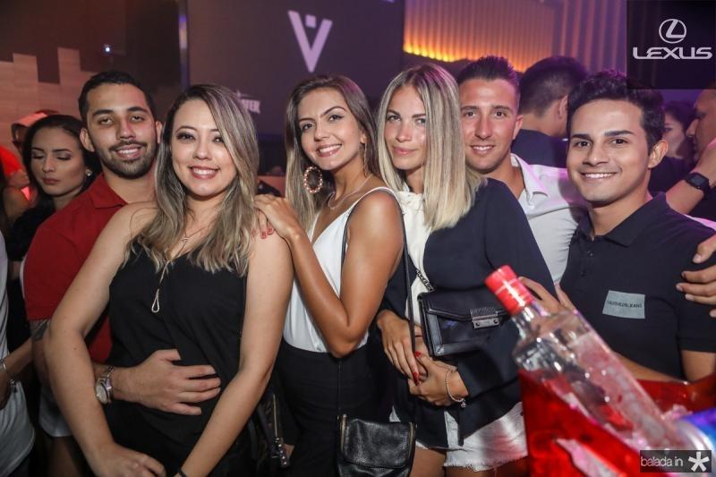 Murilo Araujo, Talita Façanha, Beatriz Leite, Natalia Valeska, Narcelio Scarsi e Ewerton Alves