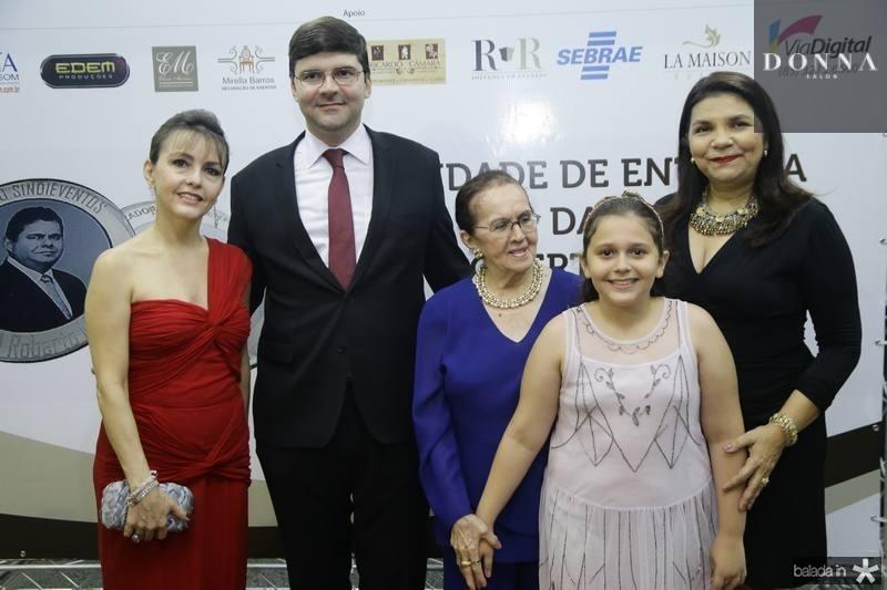 Circe Jane, Laerte Castro Alves, Zenilde e Beatriz Matoso e Celina Castro Alves