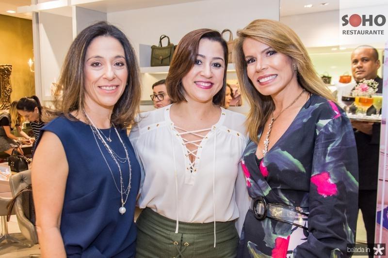 Roberta Saad, Andrea Coelho e Maira Silva