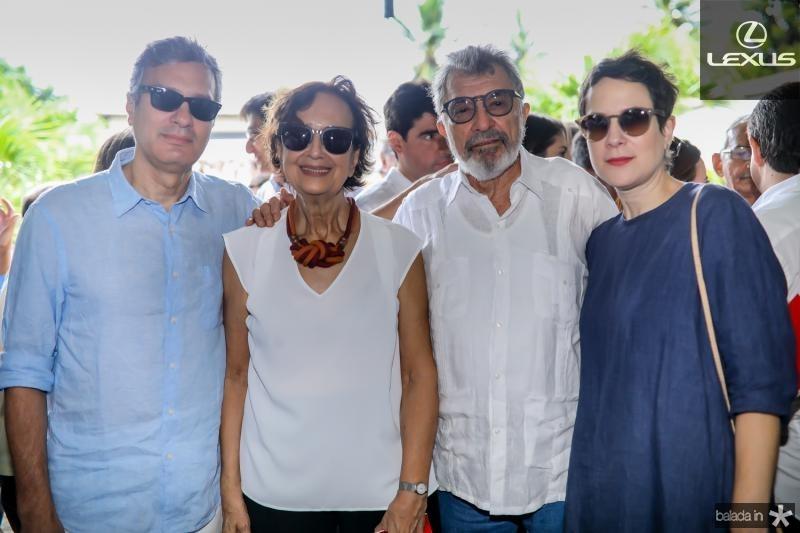 Tiago, Ermengarda, Eudoro e Isabel Santana