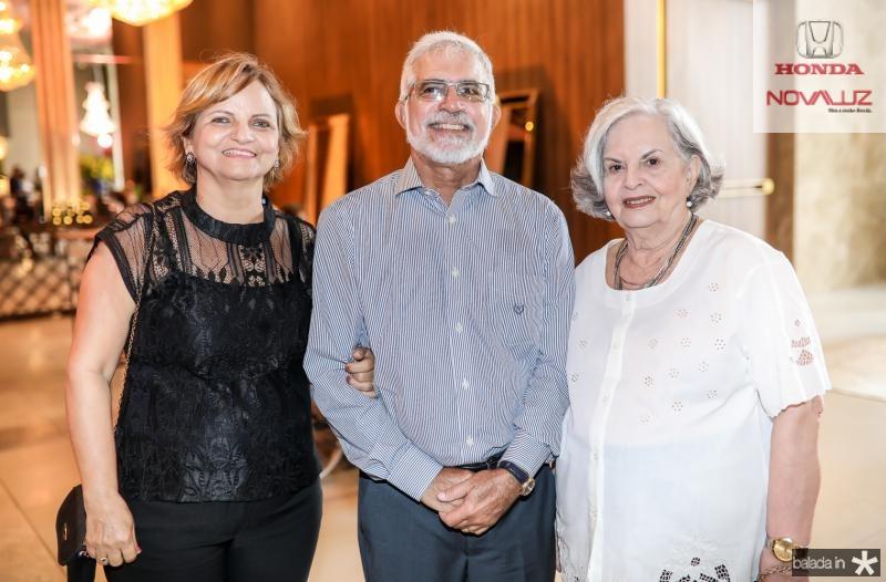 Ana Virginia, Manoel e Lourdes Teofilo