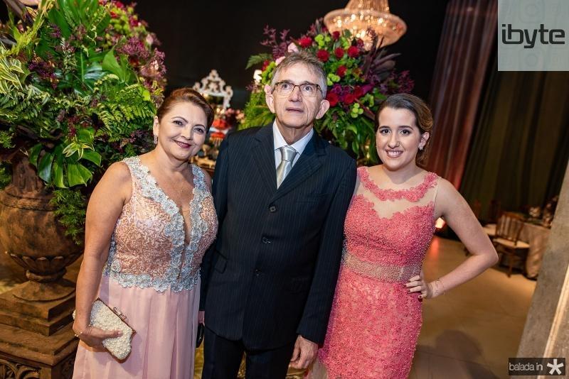Silvana, Roberto, Aline Saraiva