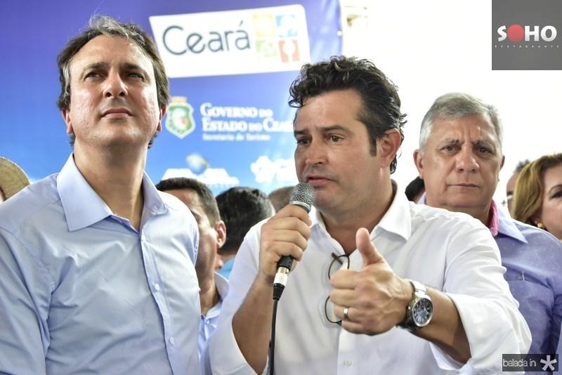 Camilo Santana e Mauricio Quintella