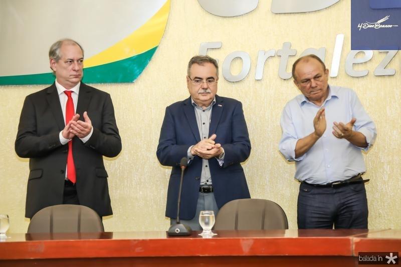 Ciro Gomes, Assis Cavalcante e Honorio Pinheiro