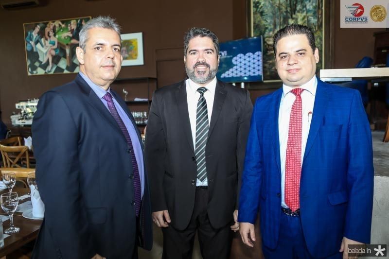 Alvaro Sales, Heitor Fiuza e Bruno Dourado