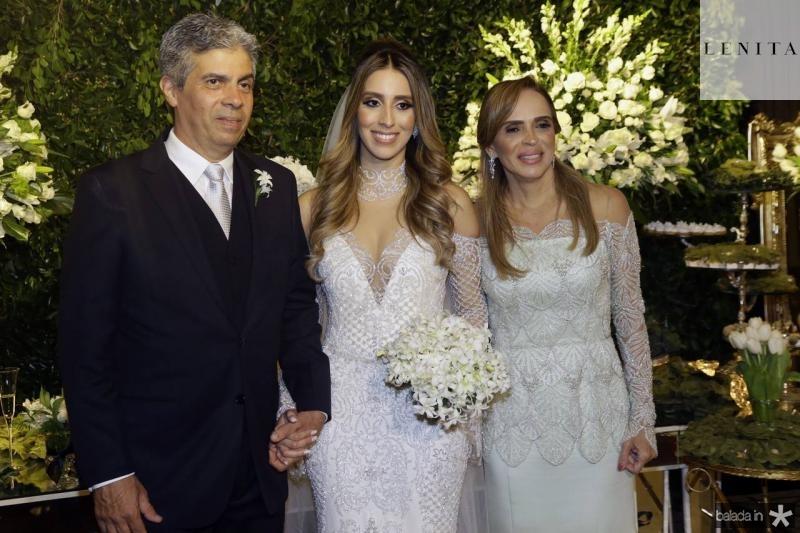 Marcos Tavares, Nathalia e Sonia Ximenes