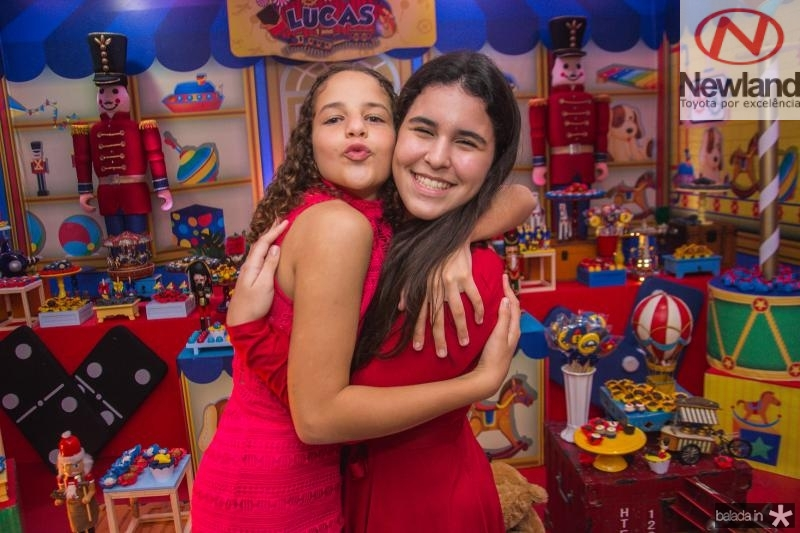 Maria Clara Borges e Lara Albuquerque