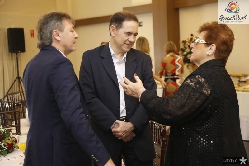 Mauricio Filizola, Luiz Antoni Rabelo e Catarina Marinho