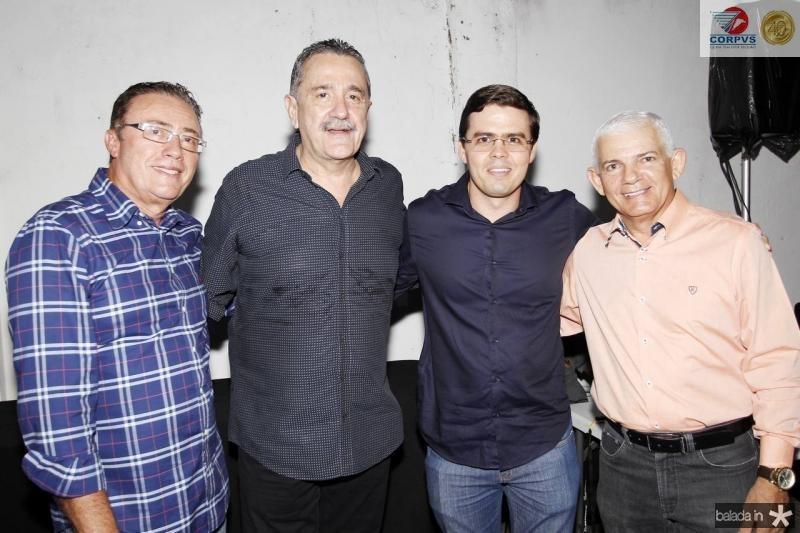 Darlan Leite, Bismarck Maia, Tarsio Faco e Bosco da Cruz