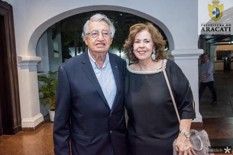 Carlos Farias e Vera Valente