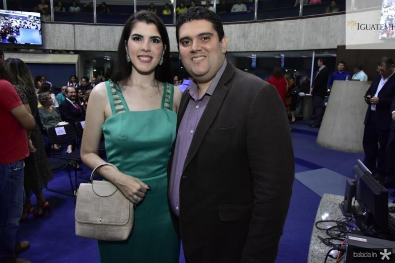 Lorena e Paulo Monte Alverne
