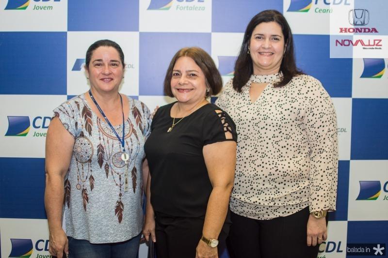 Neusrimene Oliveira, Ana Luiza Chaves e Marilia Marinho