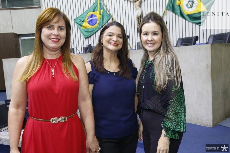 Sofia Menescal, Adriana Silveira e Liana Fujita