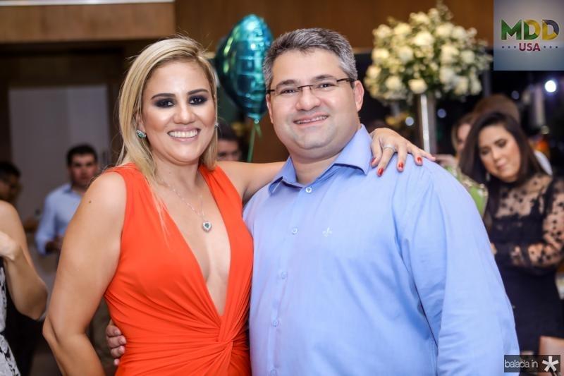Adriana Lira e Mario Queiros