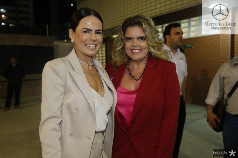 Luciana Souza e Valeska Rolim
