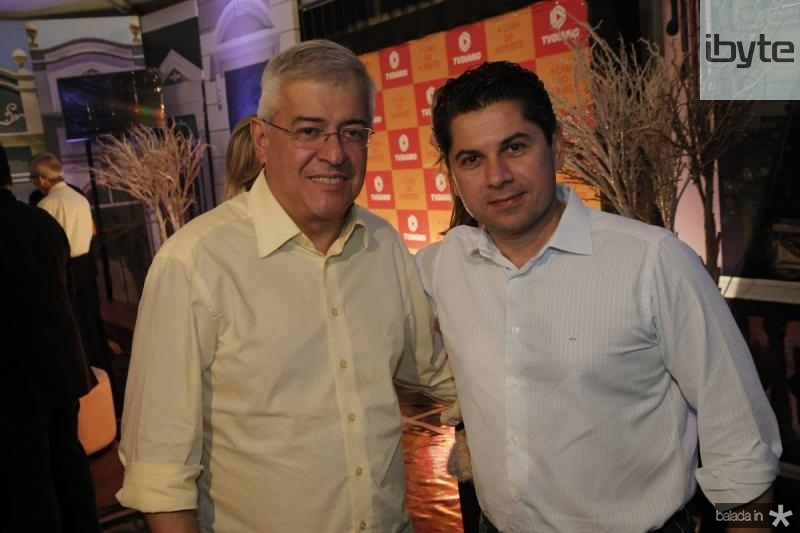 Paulo Cesar Noroes e Pompeu Vasconcelos