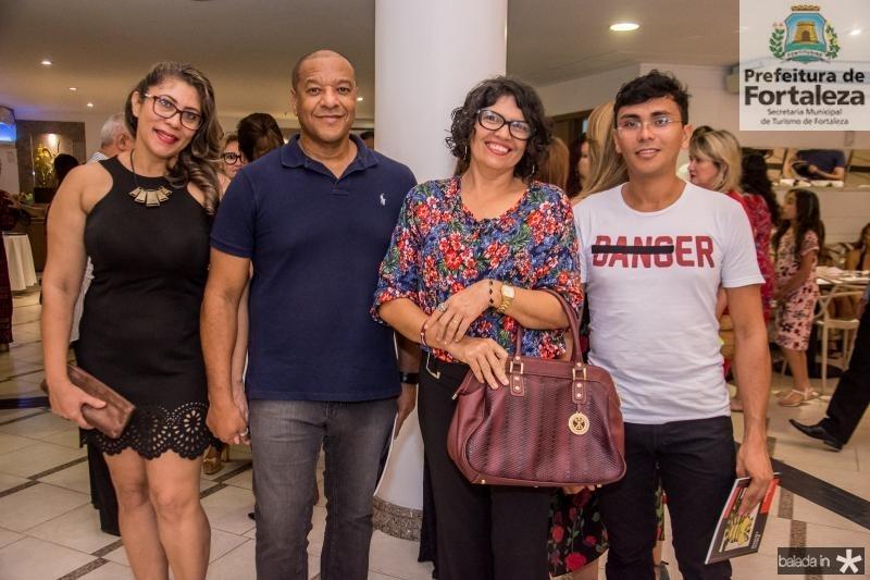 Sonia a Costa, Denilson a Costa, Glauciane Gomes e Adriano Paz