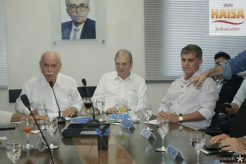 Freitas Cordeiro, Tasso Jereissati e Guilherme Theophilo 5