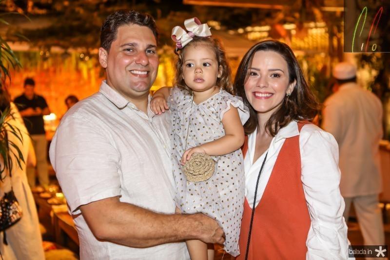 Daniel, Liz e Carol Negreiros