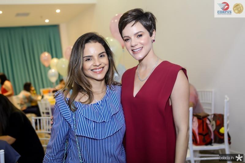 Viviane Martins e Paula Sampaio
