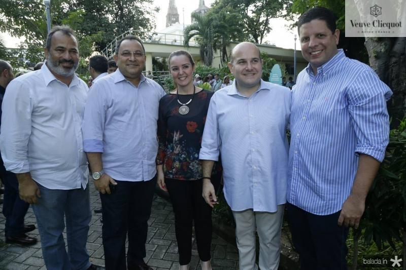 Hermann Hesse, Moacir Maia, Nicole Barbosa, Roberto Claudio e Homero Silva
